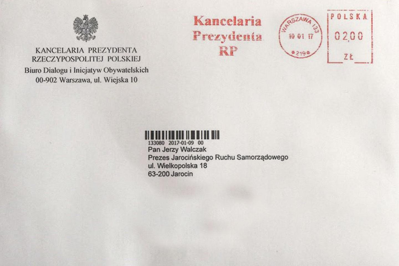 Czy jest sens wysyłać list do p. Prezydenta?