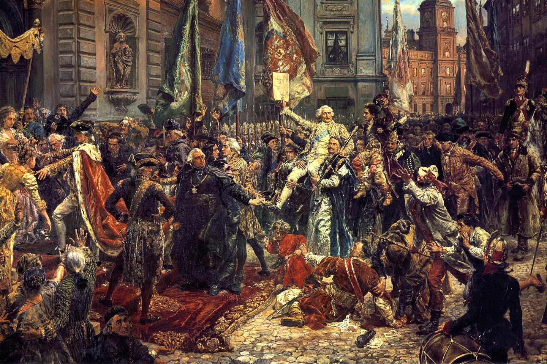 Konstytucję 3 maja uważa się – obok Grunwaldu, Solidarności i Euro 2012 – za dowód, że Polak potrafi.